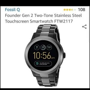 Fossil Gen 2 Smartwatch Q Founder